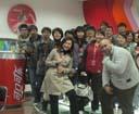 ESLI学员课外活动,一起去参观可口可乐公司。